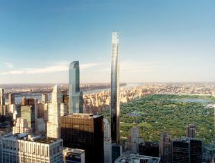Współczesna architektura na świecie: najwęższy wieżowiec w Nowym Jorku
