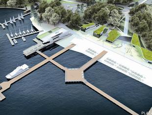 O konkursie na zagospodarowaniu nabrzeży jeziora Ukiel
