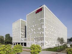 Biurowiec Silesia Star w Katowicach